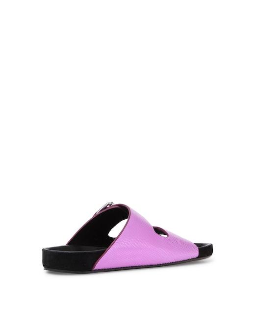rinascente Isabel Marant Lennyo leather slides