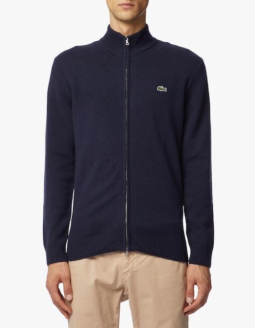 rinascente Lacoste Full zip wool sweater