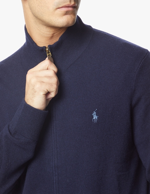 rinascente Polo Ralph Lauren Loryelle full zip sweater