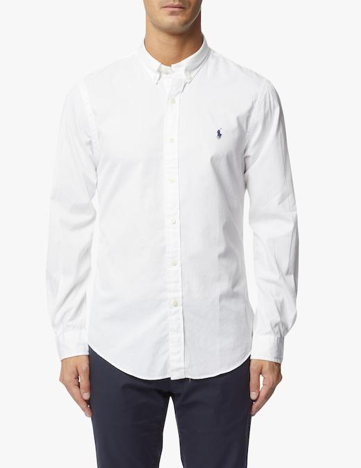 rinascente Polo Ralph Lauren Botton down slim fit twill shirt
