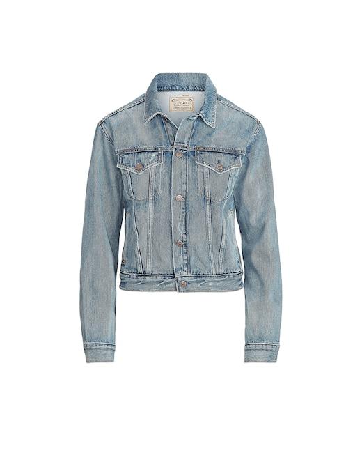 rinascente Polo Ralph Lauren Giacca di jeans con orso