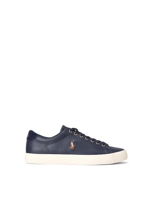 rinascente Polo Ralph Lauren Sneaker longwood  in pelle traforata