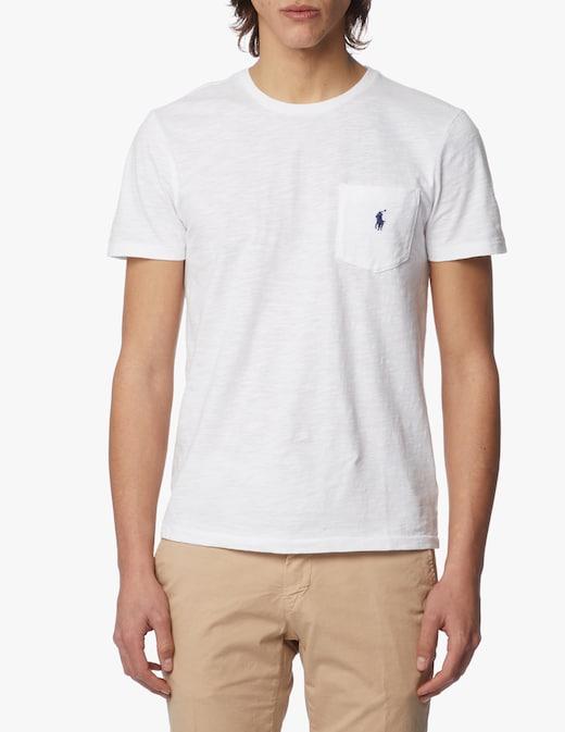 rinascente Polo Ralph Lauren T-shirt girocollo pocket jersey wash