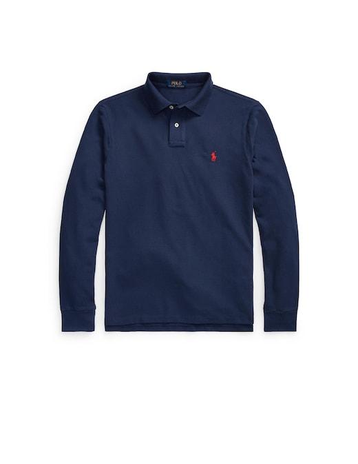 rinascente Polo Ralph Lauren Long sleeve basic slim fit polo shirt