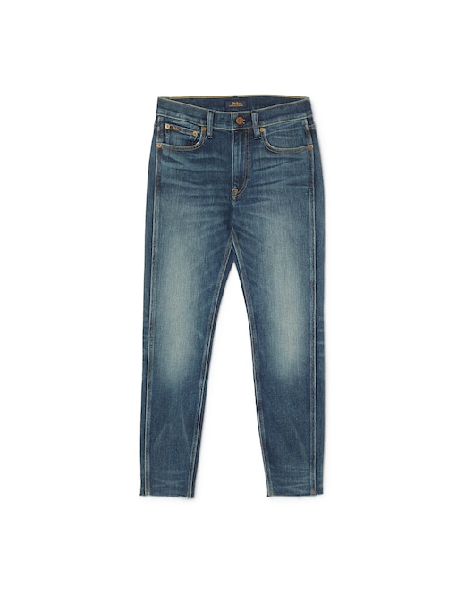 rinascente Polo Ralph Lauren Mid rise skinny cropped jeans