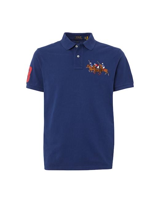 rinascente Polo Ralph Lauren Pony player mesh short sleeve polo shirt