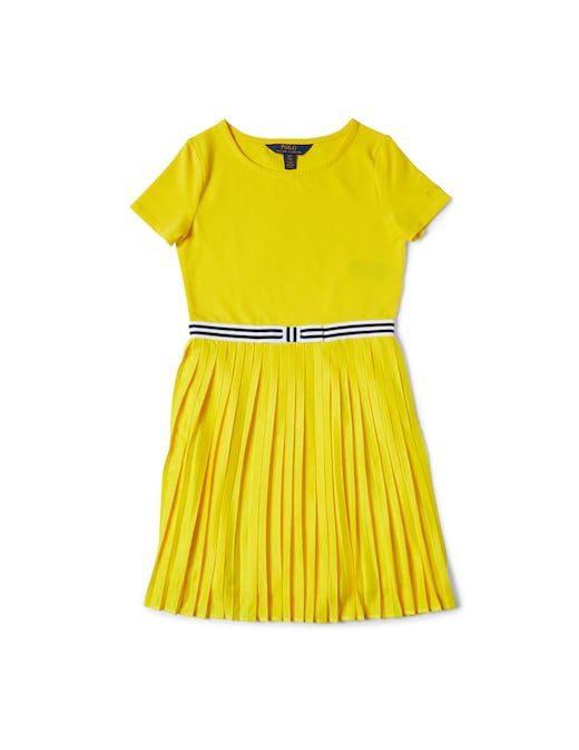 rinascente Polo Ralph Lauren Pleated stretch jersey dress