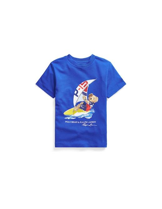 rinascente Polo Ralph Lauren Polo bear cotton jersey tee