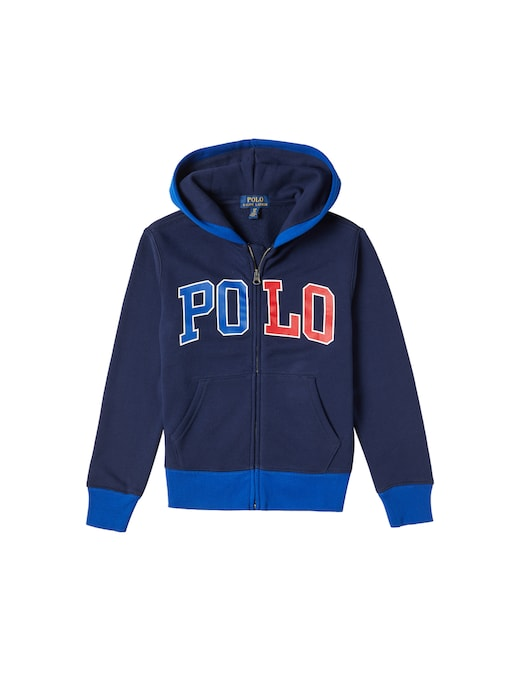 rinascente Polo Ralph Lauren Felpa full-zip con cappuccio con logo