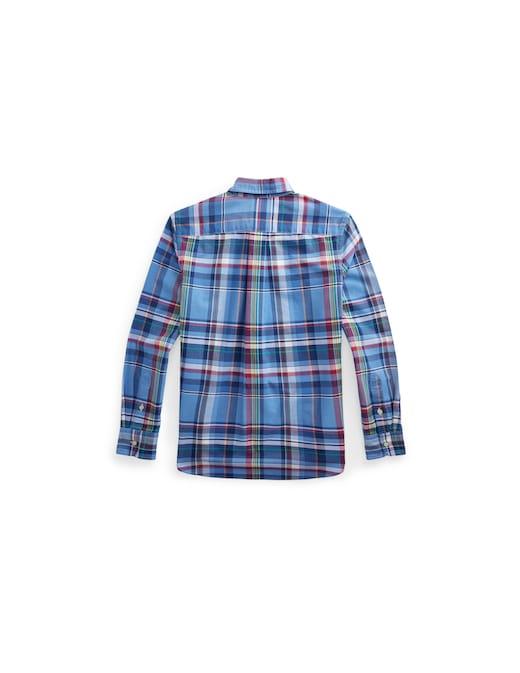 rinascente Polo Ralph Lauren Plaid cotton oxford shirt