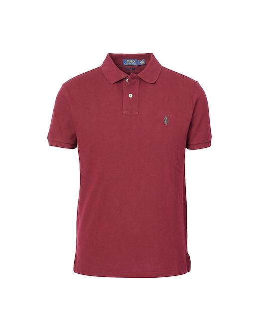 rinascente Polo Ralph Lauren Basic mesh slim fit short sleeve polo shirt