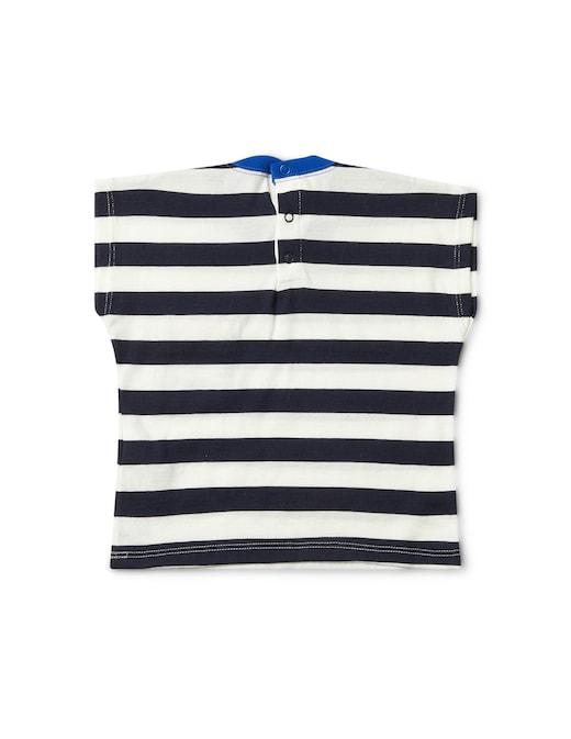 rinascente Petit Bateau Striped pocket t-shirt