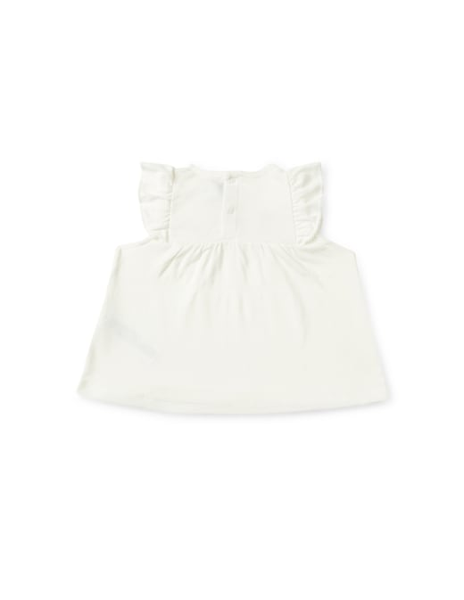 rinascente Petit Bateau Blusa senza maniche con stampa bambine