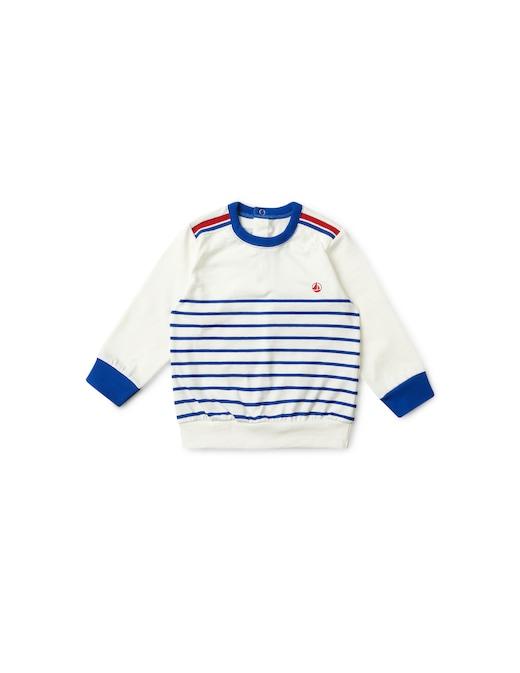 rinascente Petit Bateau Stripep roundneck sweatshirt