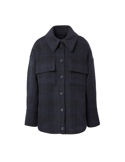 rinascente Ba&sh Carmel wool blend jacket