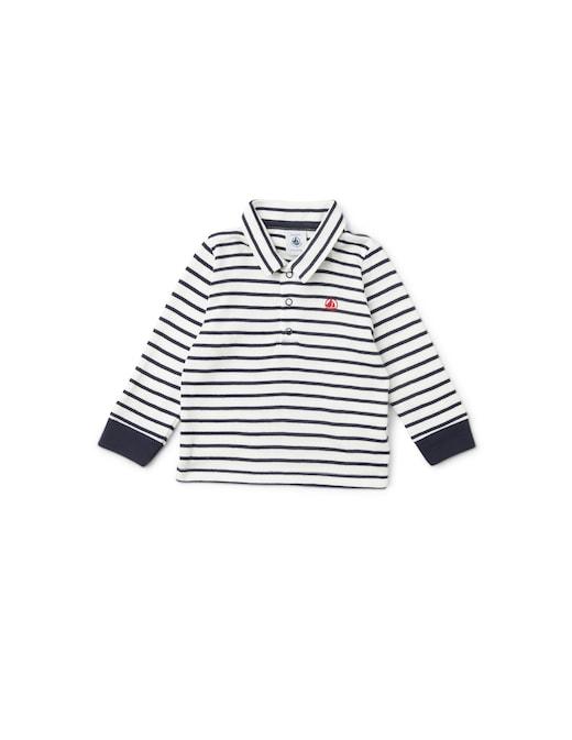 rinascente Petit Bateau Cotton long sleeve polo shirt