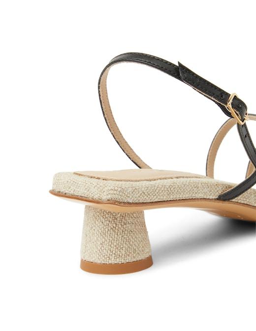 rinascente Jacquemus Basgia slingback heeled mules