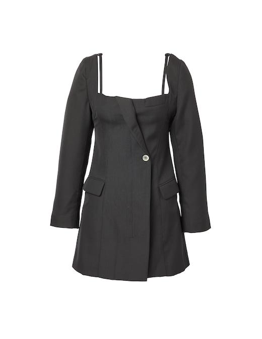 rinascente Jacquemus Wool mini dress Maniu