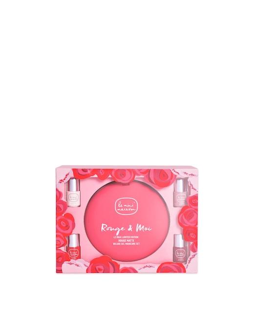 rinascente Le Mini Macaron Set Manicure Smalto Semipermanente Le Maxi Rouge Et Moi