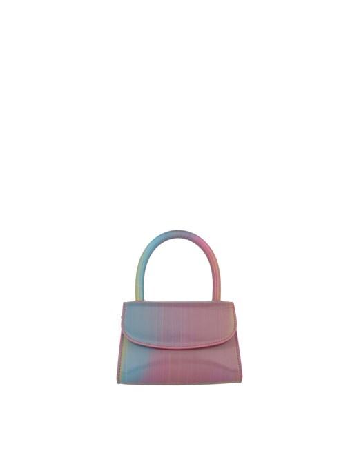 rinascente By Far Mini Rainbow Leather Handbag