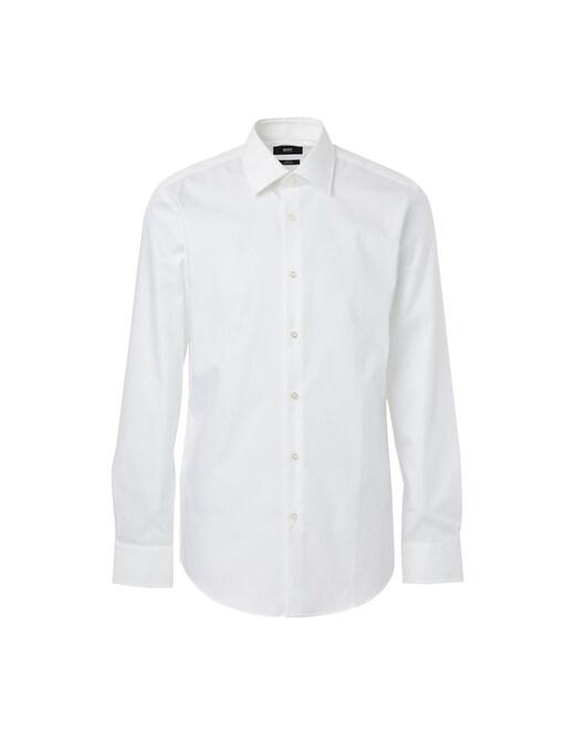 rinascente Boss Camicia slim fit in popeline di cotone