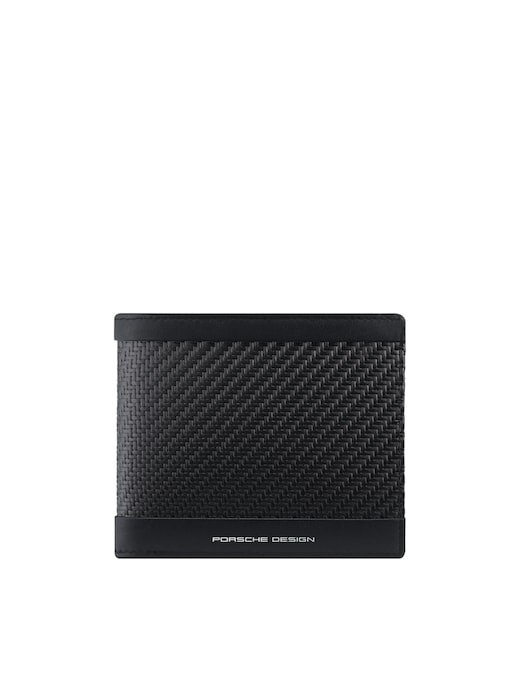 rinascente Porsche Design Carbon wallet 4 cc coin case