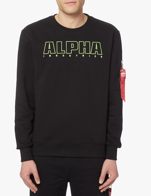 rinascente Alpha Industries Alpha embroidery sweater