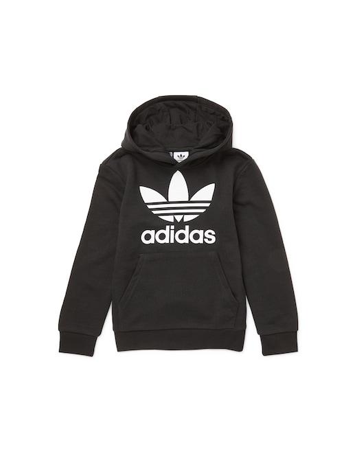 rinascente Adidas Originals Trefoil logo hoodie