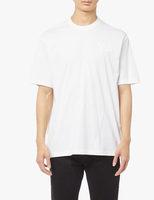 rinascente Adidas Y-3 T-shirt classic logo sul petto