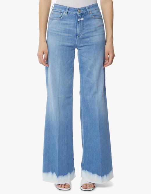 rinascente Closed Jeans Glow-up elasticizzato morbido con dettagli in batik