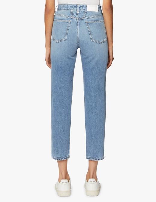 rinascente Closed Pedal Pusher eco-denim jeans