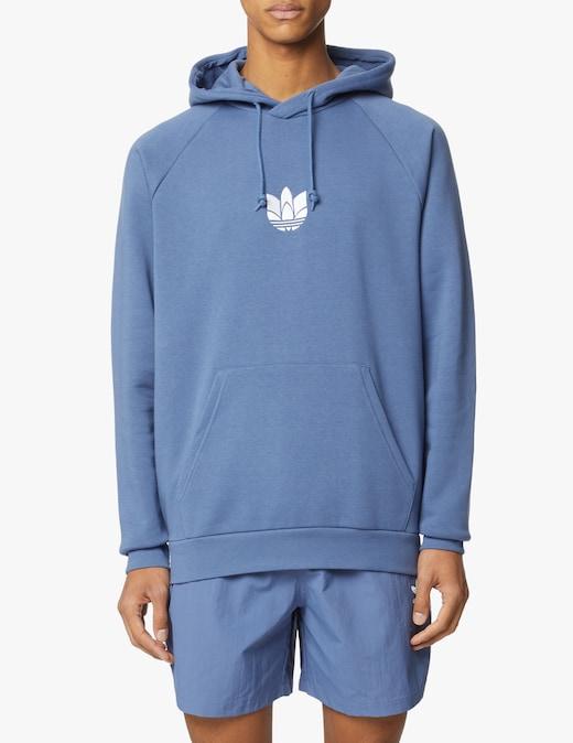 rinascente Adidas Originals 3d trefoil hoodie