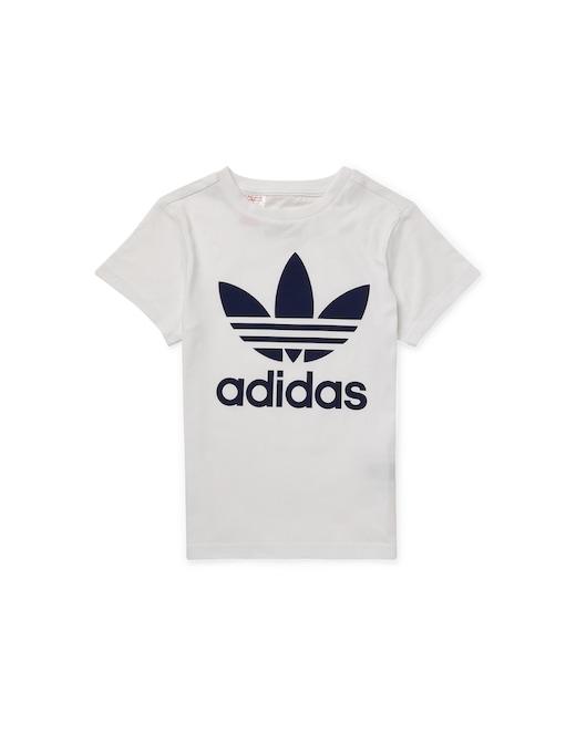 rinascente Adidas Originals Logo trefoil t-shirt