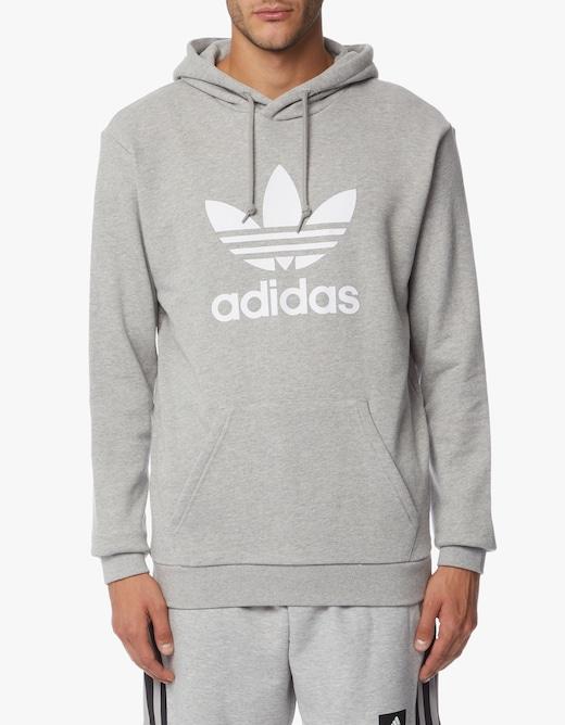 rinascente Adidas Originals Logo trefoil hoodie