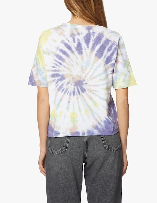 rinascente PSC T-shirt tie dye in cotone Hippies