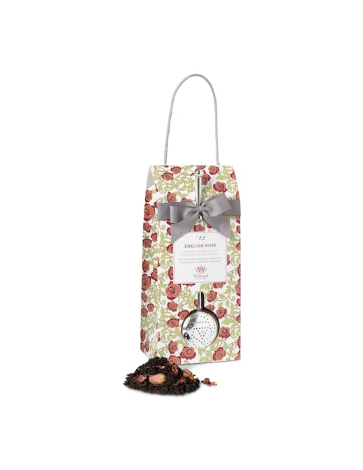 rinascente Whittard Black tea with rose petals