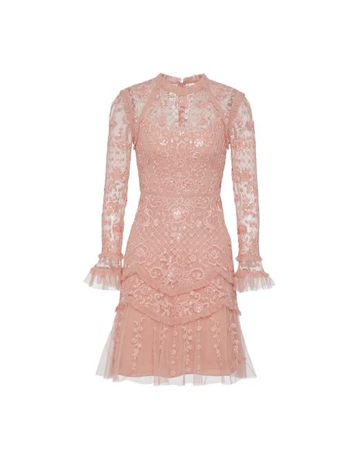 rinascente Needle & Thread Vestito corto Marigold Rose