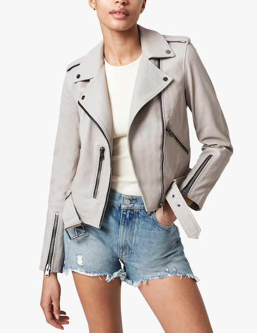 rinascente AllSaints Balfern biker jacket
