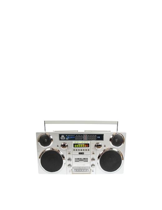 rinascente GPO Boombox Sistema Audio Radio Dab+ CD Cassette Player