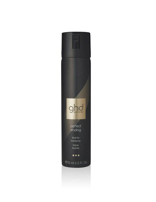 rinascente ghd perfect ending final fix hairspray