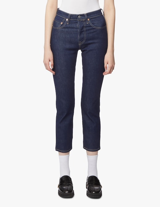 rinascente Levi's Made & Crafted Jeans a gamba dritta 501 crop