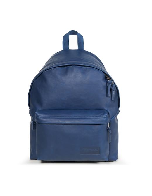rinascente Eastpak Padded Pak'r Blue Leather backpack