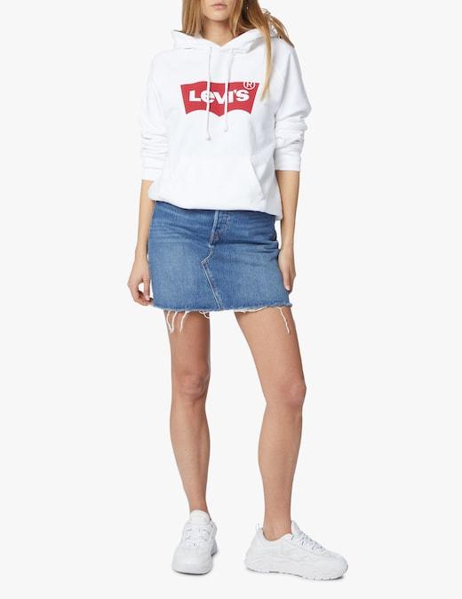 rinascente Levi's Minigonna di jeans a vita alta
