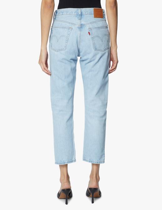 rinascente Levi's 501 crop jeans