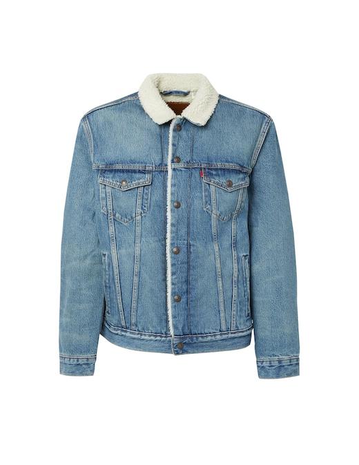 rinascente Levi's Denim sherpa jacket