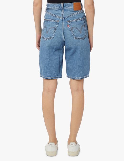 rinascente Levi's Bermuda di jeans a vita alta