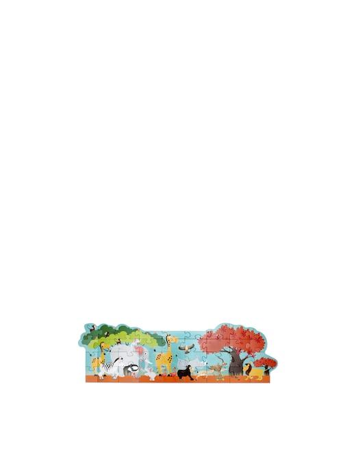 rinascente Scratch Puzzle da pavimento Safari. 100x33cm