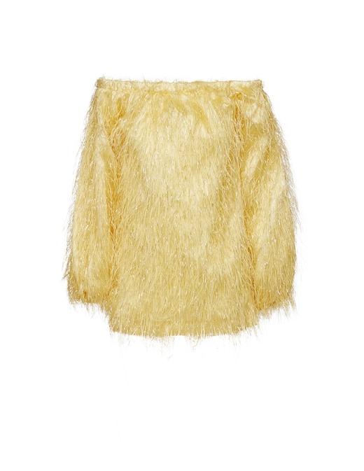 rinascente Rotate Gloria feather dress