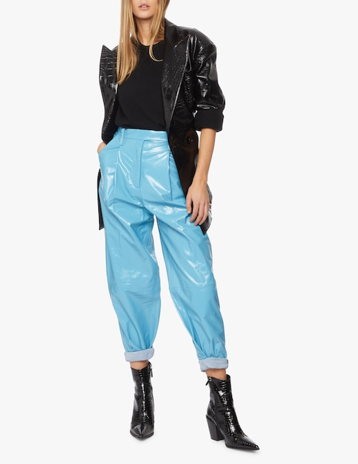 rinascente Remain Carrot pence leather pants