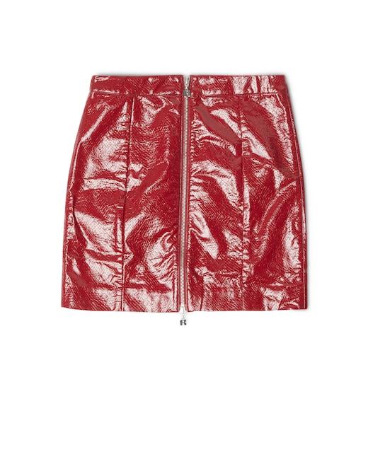 rinascente Rotate Mini skirt with zip Kari
